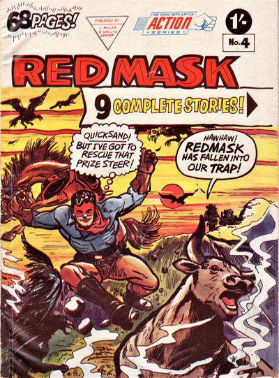Cover for Action Series (L. Miller & Son, 1958 series) #4