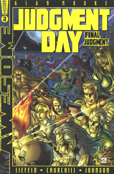 Cover for Judgment Day: The Final Judgment (Awesome, 1997 series) #3