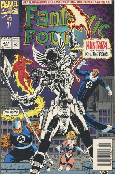 Cover for Fantastic Four (Marvel, 1961 series) #377 [Direct]