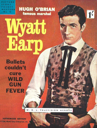 Cover for Picture Story Pocket Western (World Distributors, 1958 series) #15