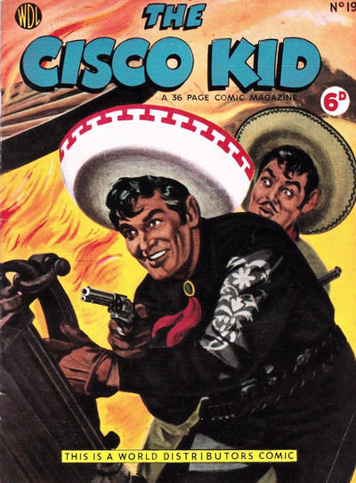 Cover for Cisco Kid (World Distributors, 1952 series) #19