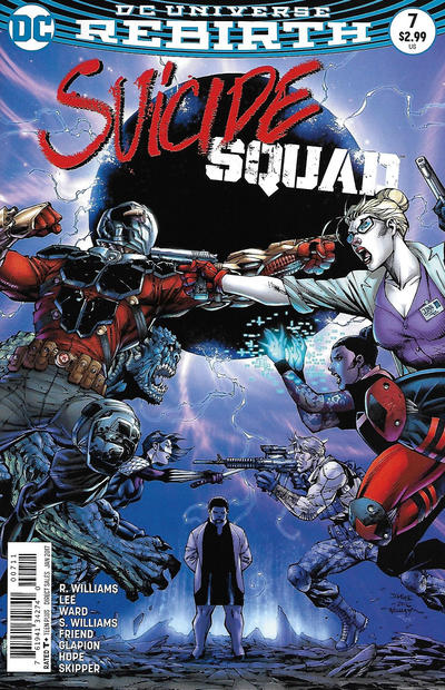 Cover for Suicide Squad (DC, 2016 series) #7 [Newsstand]