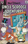 Cover for Walt Disney's Uncle Scrooge Adventures (Gladstone, 1987 series) #9 [Newsstand]