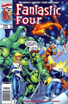 Cover for Fantastic Four (Marvel, 1998 series) #14 [Newsstand]