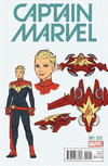 Cover Thumbnail for Captain Marvel (2016 series) #1 [Incentive Kris Anka Design Variant]