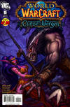 Cover for World of Warcraft: Curse of the Worgen (DC, 2011 series) #5
