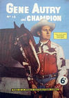 Cover for Gene Autry and Champion (World Distributors, 1956 series) #15