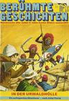 Cover for Bastei Sonderband (Bastei Verlag, 1970 series) #34 - In der Urwaldhölle