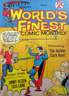 Cover for Superman Presents World's Finest Comic Monthly (K. G. Murray, 1965 series) #6