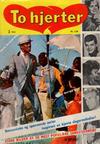 Cover for To hjerter (Serieforlaget / Se-Bladene / Stabenfeldt, 1961 series) #2/1961
