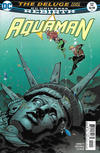 Cover for Aquaman (DC, 2016 series) #12 [Brad Walker / Drew Hennessy Cover]
