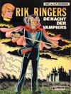 Cover for Rik Ringers (Le Lombard, 1963 series) #34 - De nacht der vampiers