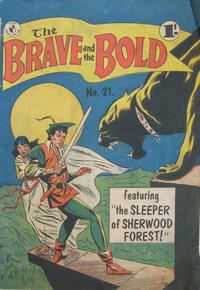 Cover Thumbnail for The Brave and the Bold (K. G. Murray, 1956 series) #21