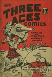 Cover Thumbnail for Three Aces Comics (Anglo-American Publishing Company Limited, 1941 series) #v1#8