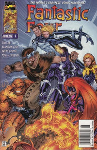 Cover Thumbnail for Fantastic Four (Marvel, 1996 series) #8 [Newsstand]