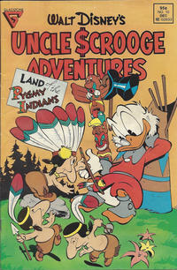 Cover Thumbnail for Walt Disney's Uncle Scrooge Adventures (Gladstone, 1987 series) #10 [Newsstand]