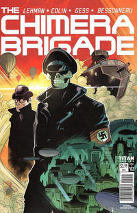 Cover Thumbnail for The Chimera Brigade (Titan, 2016 series) #2 [Cover A]