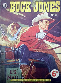 Cover Thumbnail for Buck Jones (World Distributors, 1953 series) #8
