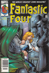 Cover for Fantastic Four (Marvel, 1998 series) #29 [Direct Edition]