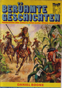 Cover Thumbnail for Bastei Sonderband (Bastei Verlag, 1970 series) #26 - Daniel Boone