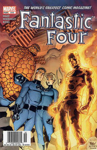 Cover Thumbnail for Fantastic Four (Marvel, 1998 series) #510 [Newsstand]