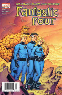 Cover Thumbnail for Fantastic Four (Marvel, 1998 series) #511 [Newsstand]