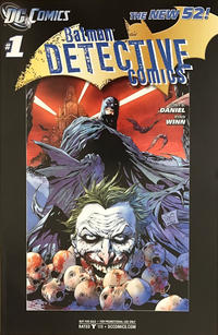 Cover Thumbnail for Detective Comics (DC, 2011 series) #1 [RRP Edition]