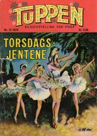 Cover Thumbnail for Tuppen (Serieforlaget / Se-Bladene / Stabenfeldt, 1969 series) #12/1974