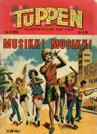 Cover Thumbnail for Tuppen (Serieforlaget / Se-Bladene / Stabenfeldt, 1969 series) #9/1974