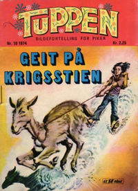 Cover Thumbnail for Tuppen (Serieforlaget / Se-Bladene / Stabenfeldt, 1969 series) #10/1974