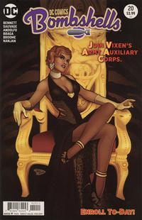 Cover Thumbnail for DC Comics: Bombshells (DC, 2015 series) #20