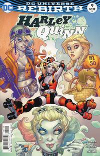 Cover Thumbnail for Harley Quinn (DC, 2016 series) #9 [Amanda Conner Cover]