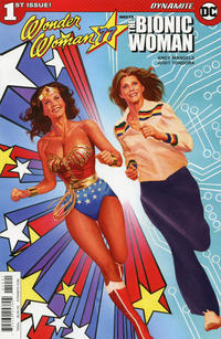 Cover Thumbnail for Wonder Woman '77 Meets the Bionic Woman (Dynamite Entertainment, 2016 series) #1 [Cover B Ross]