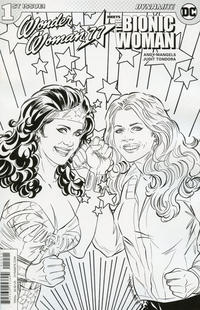 Cover Thumbnail for Wonder Woman '77 Meets the Bionic Woman (Dynamite Entertainment, 2016 series) #1 [Cover D Tondora]