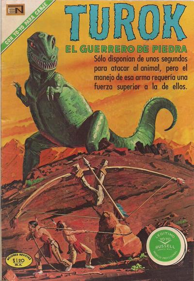 Cover for Turok (Editorial Novaro, 1969 series) #21