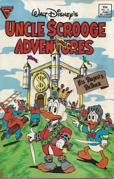 Cover for Walt Disney's Uncle Scrooge Adventures (Gladstone, 1987 series) #14