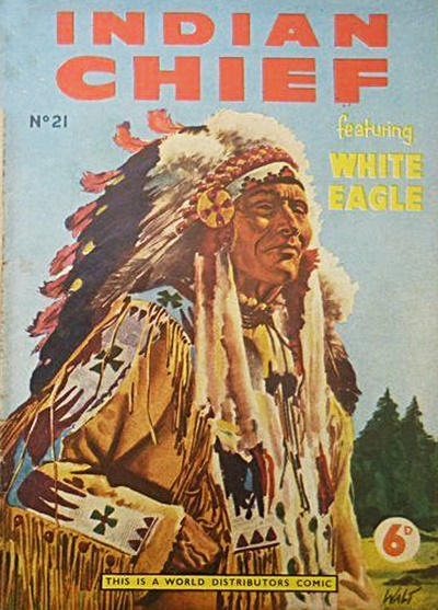 Cover for Indian Chief (World Distributors, 1953 series) #21