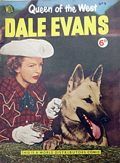 Cover for Dale Evans Queen of the West (World Distributors, 1955 series) #9