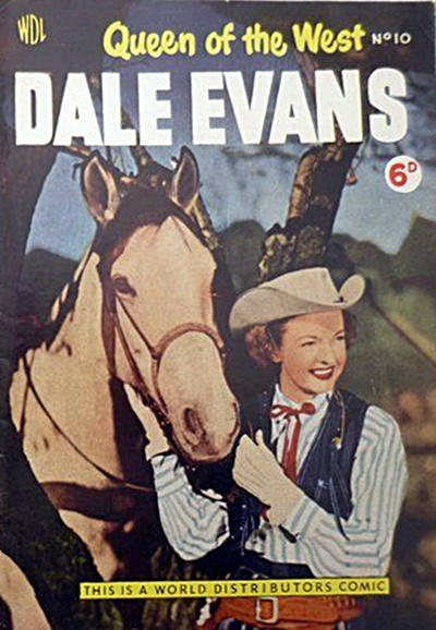 Cover for Dale Evans Queen of the West (World Distributors, 1955 series) #10