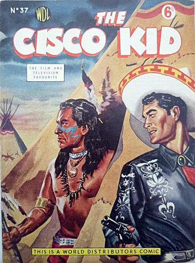 Cover for Cisco Kid (World Distributors, 1952 series) #37