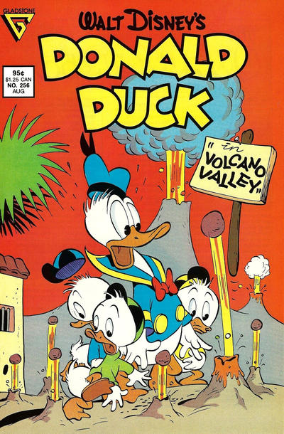 Cover for Donald Duck (Gladstone, 1986 series) #256 [Direct]