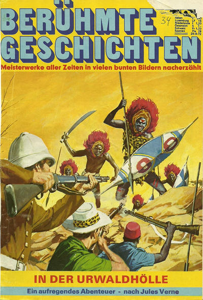 Cover for Bastei Sonderband (Bastei Verlag, 1970 series) #34 - In der Urwaldhölle
