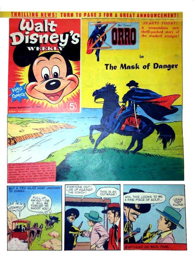 Cover for Walt Disney's Weekly (Disney/Holding, 1959 series) #v2#37