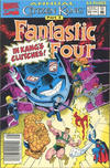 Cover for Fantastic Four Annual (Marvel, 1963 series) #25 [Newsstand]