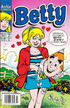 Cover for Betty (Archie, 1992 series) #15 [Newsstand]