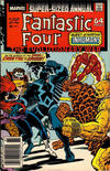 Cover for Fantastic Four Annual (Marvel, 1963 series) #21 [Newsstand]