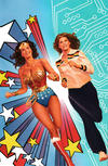 Cover for Wonder Woman '77 Meets the Bionic Woman (Dynamite Entertainment, 2016 series) #1 [Cover F Retailer Incentive 'Virgin Art' Ross]