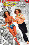 Cover for Wonder Woman '77 Meets the Bionic Woman (Dynamite Entertainment, 2016 series) #1 [Retailer Incentive 'Spot Color' Ross]