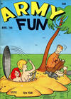 Cover for Army Fun (Prize, 1952 series) #v8#5