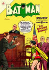 Cover for Batman (Editorial Novaro, 1954 series) #9
